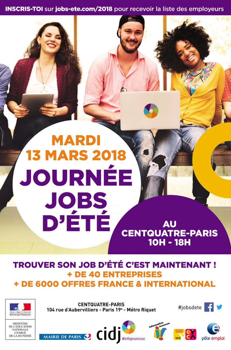 Journ e jobs d 39 t - Salon job d ete lille ...